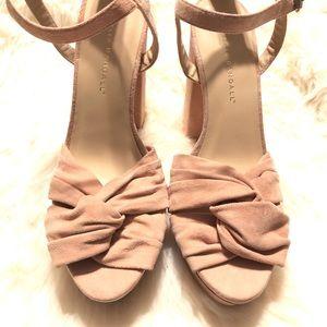 9c57db4a3db7 Loeffler Randall Shoes - Loeffler Randall Arbella Suede Twist Platforms 8.5